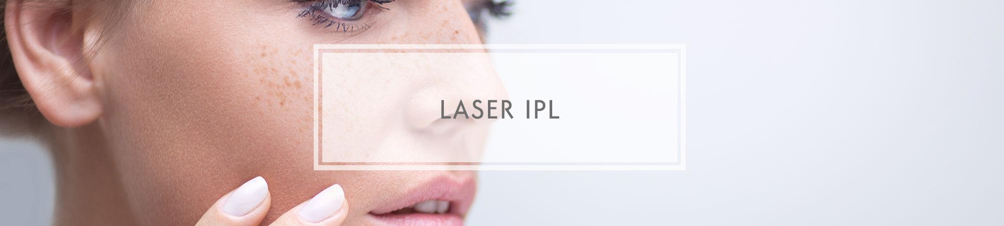 Leczenie przebarwień laserem IPL